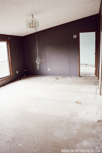 'Before' photos of our house renovation!