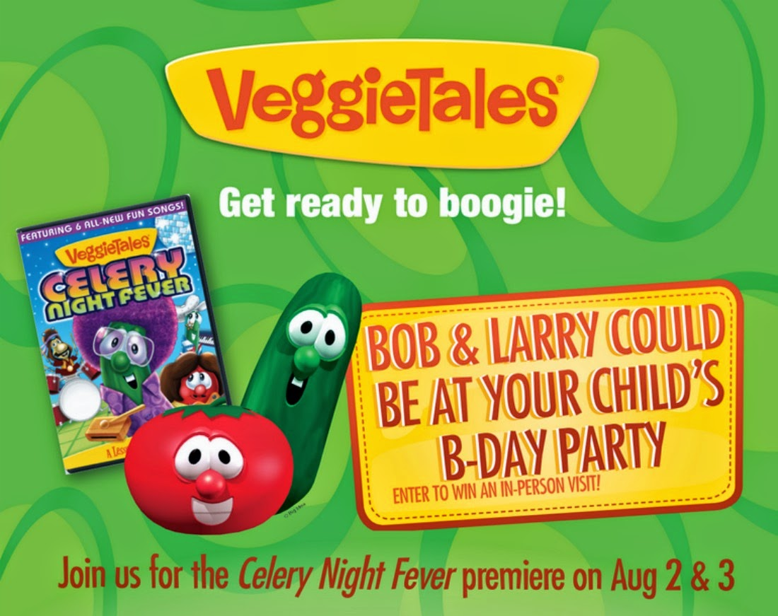 Classical Homemaking Veggietales Celery Night Fever Premiere At Family Christian Bookstores