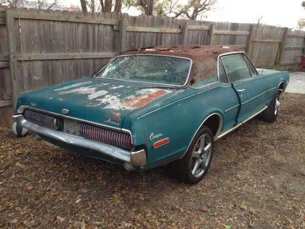 1968 Mercury Cougar Xr 7 For Sale Buy American Muscle Car