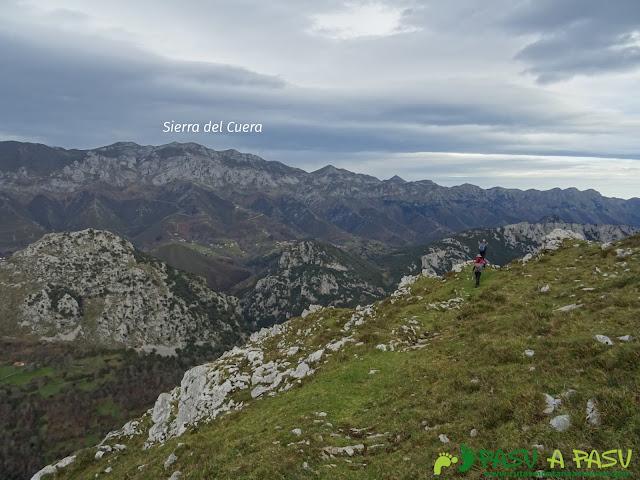 Vista del Cuera desde zona Trespandiu