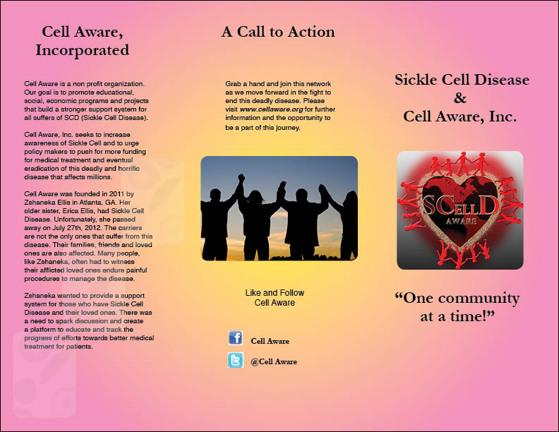COM 322 Final Project Cell Aware Inc Brochure