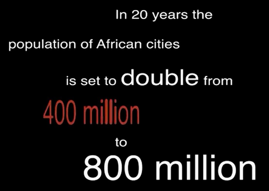 Urbanization in Africa - Rural to Urban