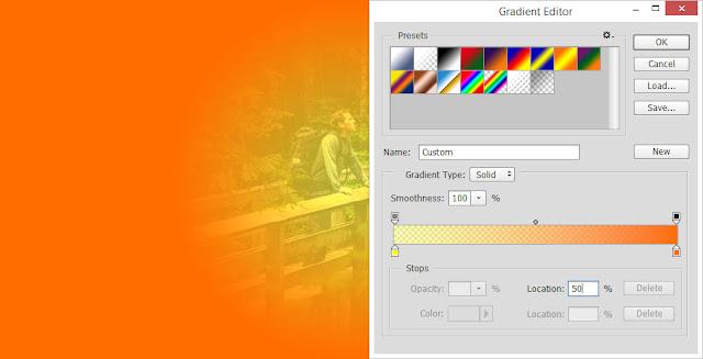 Tutorial Photoshop Membuat Effect Photo Vintage