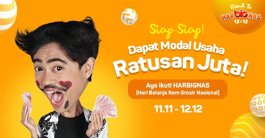Ralali - Promo Dapat Modal Usaha Ratusan Juta HARBIGNAS 11.11 - 12.12