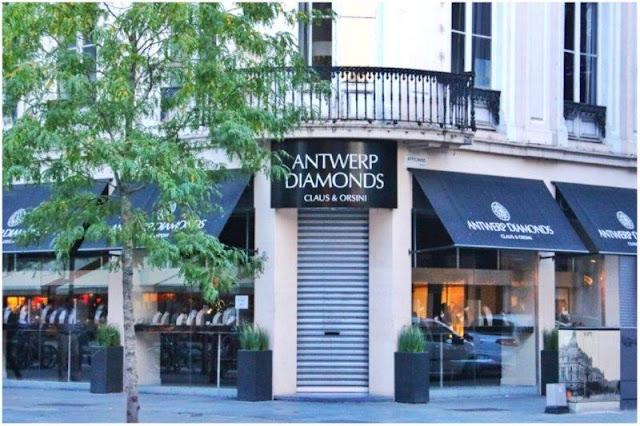 Negocio de diamantes en Amberes Antwerpen