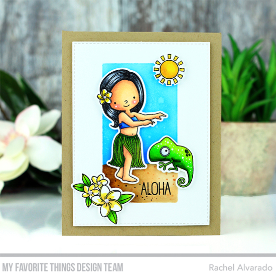 Handmade card by card by Rachel Alvarado featuring products from My Favorite Things #mftstamps