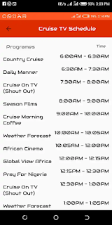 How To Stream Live Shows On Cruise TV Without Data On MTN Alitech.