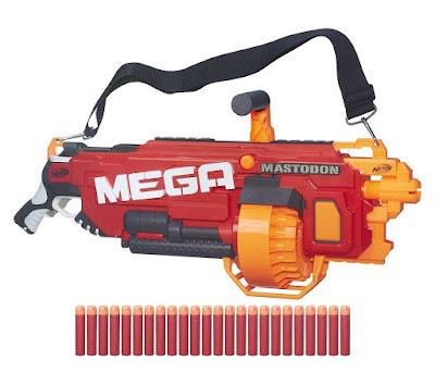 TOYS : JUGUETES - NERF N-Strike MEGA  Mega Mastodon  Producto Oficial 2016 | Hasbro B8086 | A partir de 8 años  Comprar en Amazon España & buy Amazon USA