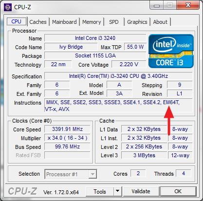 Cara Mengetahui Apakah Processor Mendukung 64-bit atau Tidak