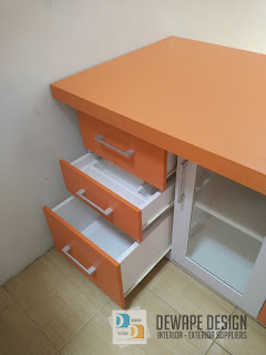 kitchen set orange malang