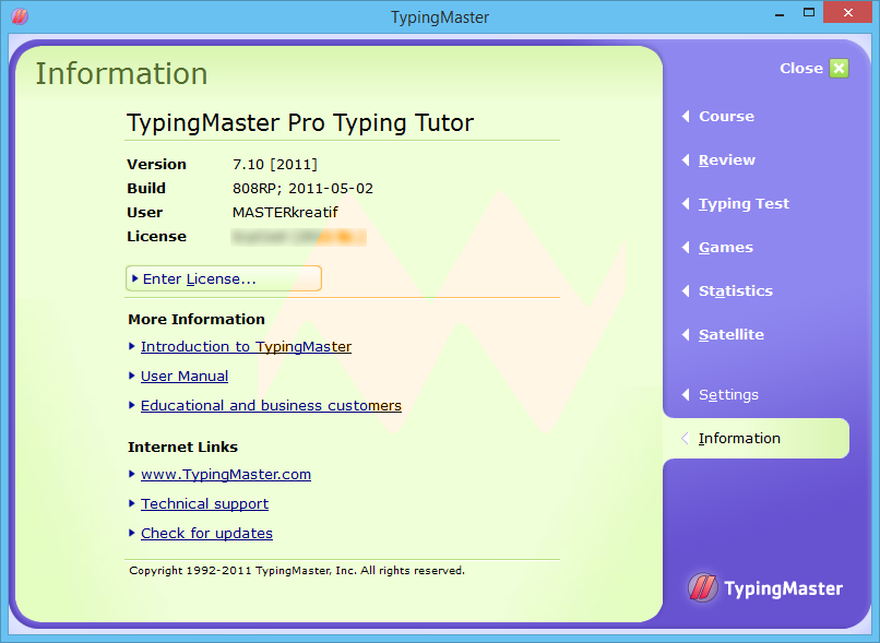 Typing Master Pro v7.10 Full Serial Key