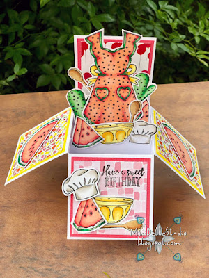 Magazine Freebie Apple Blossom Sprinkled with Love