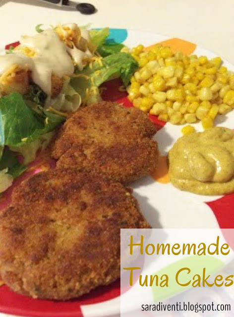 Homemade Tuna Cakes | My Name is Sara - saradiventi.blogspot.com