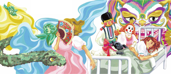 Illustration from Clara's Gifts: A retelling of the Nutcracker story.