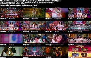 Ram Chahe Leela (Ramleela) ft. Priyanka Chopra 720p Official Video Free Download