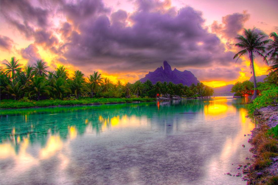 Sunset St. Regis Bora Bora
