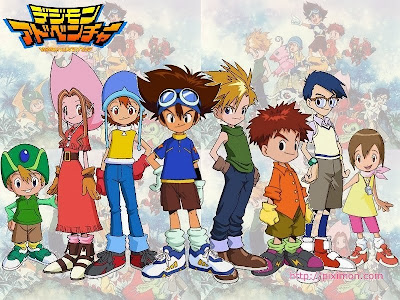 Poster Digimon Adventure