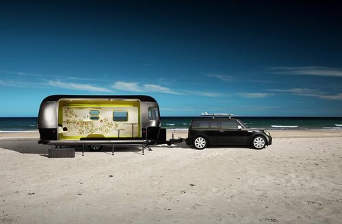 Things I Like...: MINI Cooper & Airstream Trailer By