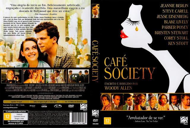 Capa DVD Café Society