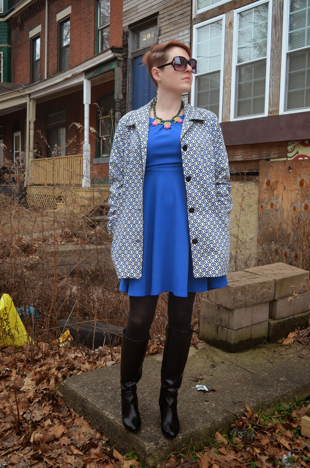 3939caed7198 Badass in a Blue Dress