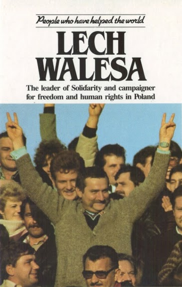 Lech Walesa was the man who led Solidarity, the first free trade union in the Communist block. He led his followers in a non-violent opposition to the state and its police and was inspirational in creating the climate that finally enabled Poland to free itself from the power of the Communist party, ca. Aug. 14, 1980