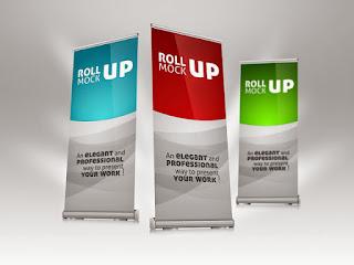 Jasa Desain Grafis Banner, X Banner, Roll Banner Profesional di Jakarta