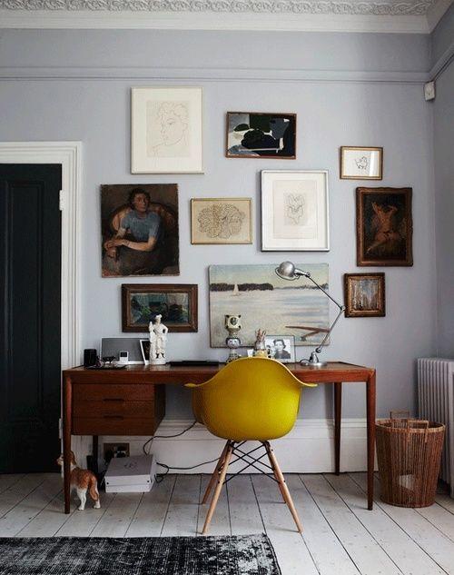 Любимый рабочий стол ретро из 50-х. 30 фото для вдохновения