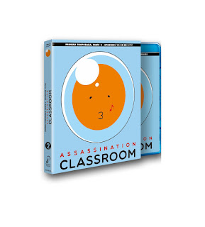 ASSASSINATION CLASSROOM. T1 - Partes 1 y 2. Bluray