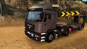MAZ-MAN 54326 truck standalone