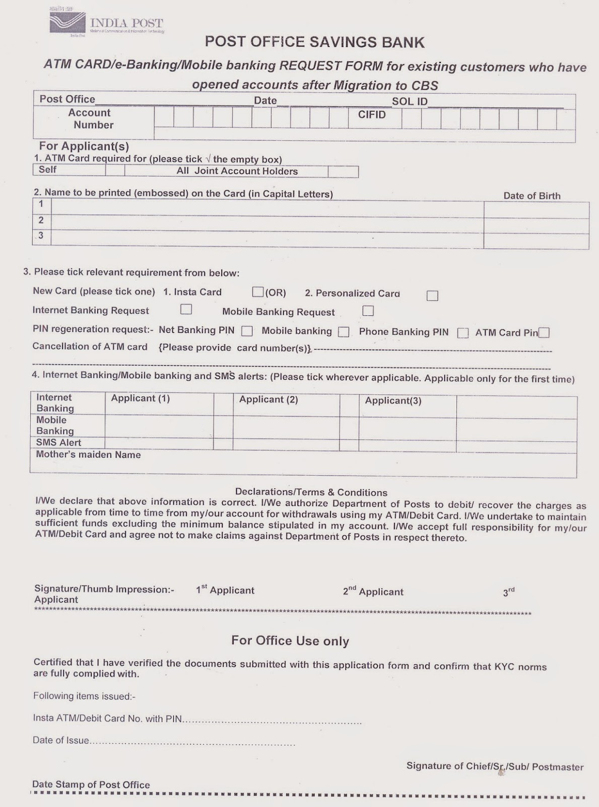 morguard banking information form