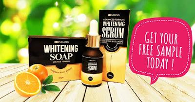 Insaeng Whitening Set Soap & Serum Free Sample Request