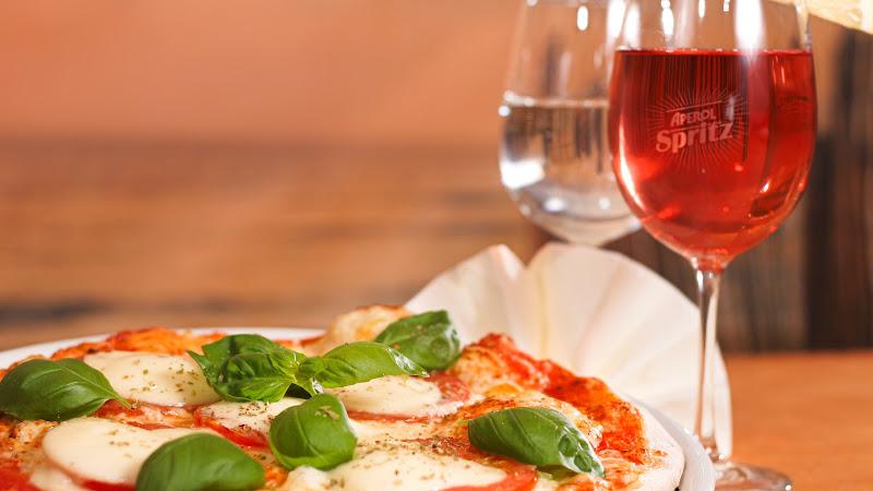 Italian Cuisine... Pizza, Aperol Spritz