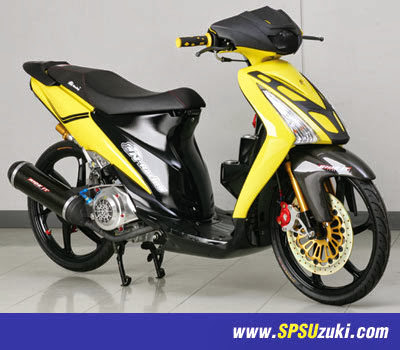 10 Variasi Modifikasi Suzuki Spin