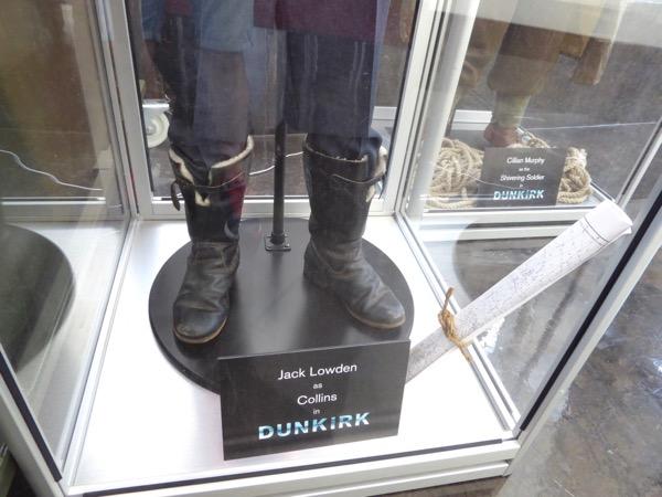 Dunkirk Collins RAF pilot boots