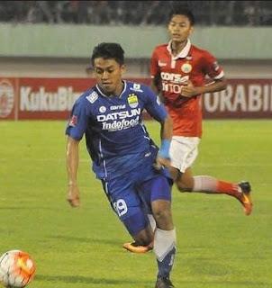 gambar Febri Hariyadi (gelandang sayap) Persib Bandung