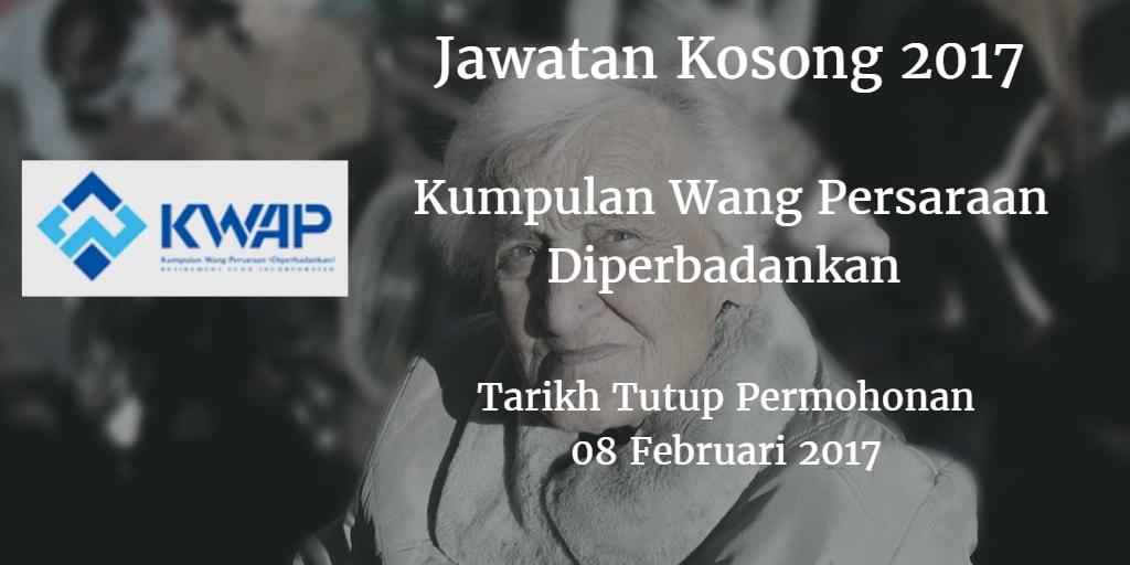 Jawatan Kosong KWAP 08 februari 2017