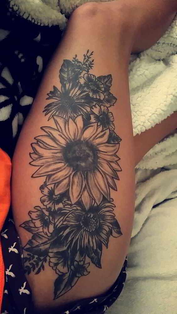 70 tatuajes en las piernas para tapar estrias y varices belagoria la web de los tatuajes. Black Bedroom Furniture Sets. Home Design Ideas