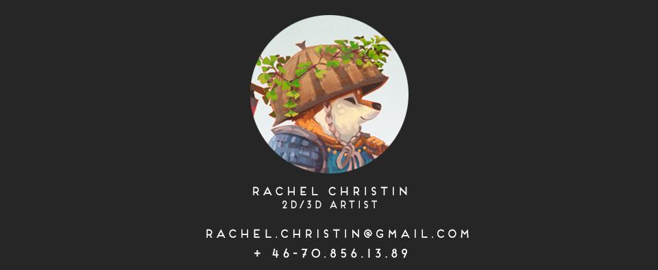 Rachel Christin - Portfolio