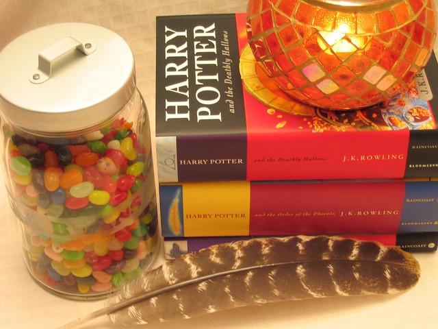 Koleksi Buku Harry Potter