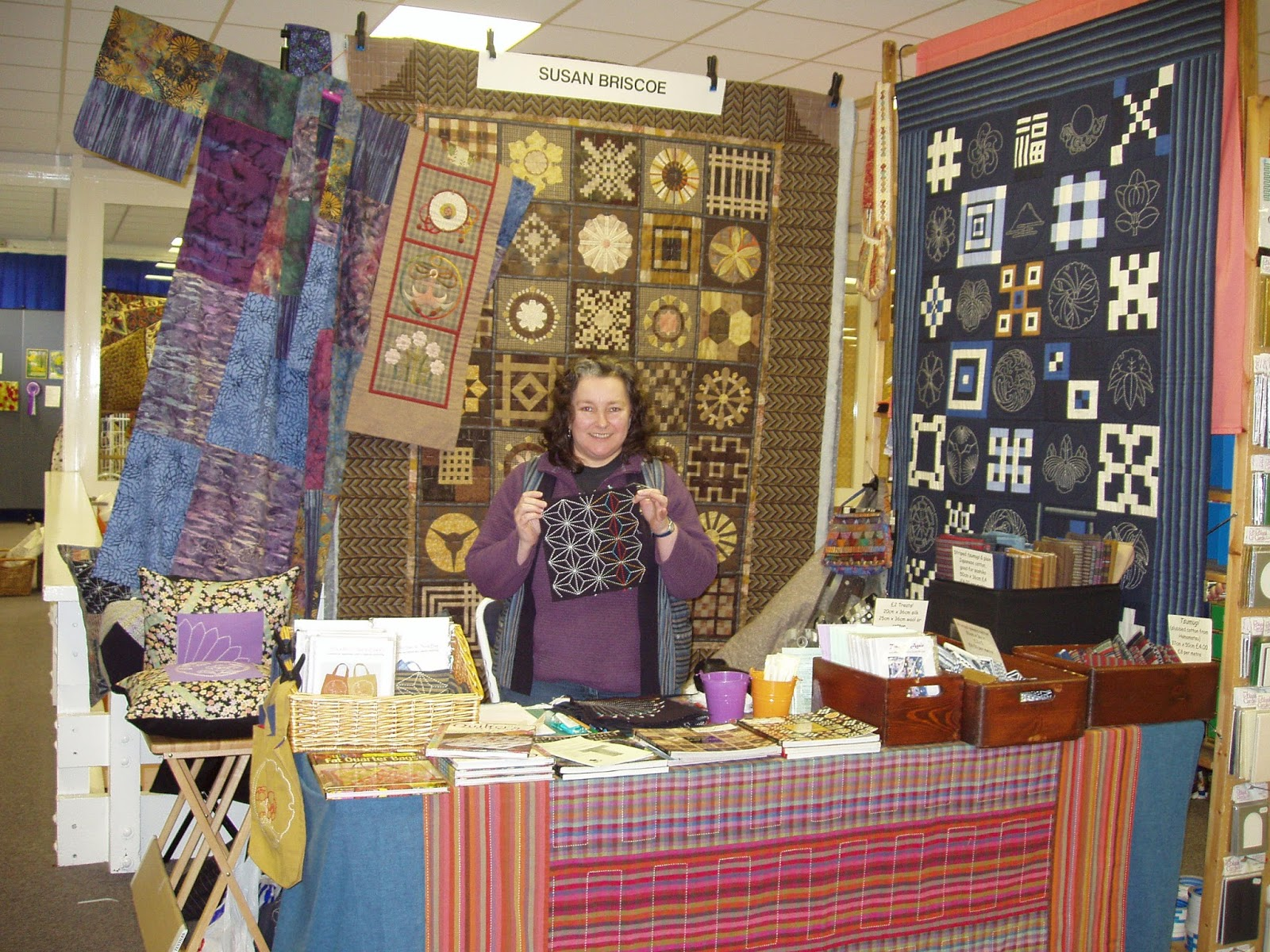 Sashiko And Other Stitching Scottish Quilt Championships Next Weekend