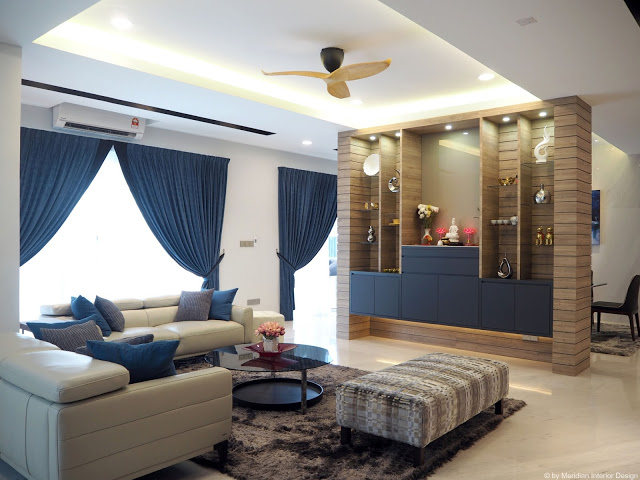 MODERN ASIAN HOME INTERIOR DESIGN PETALING JAYA- MERIDIAN INTERIOR DESIGN