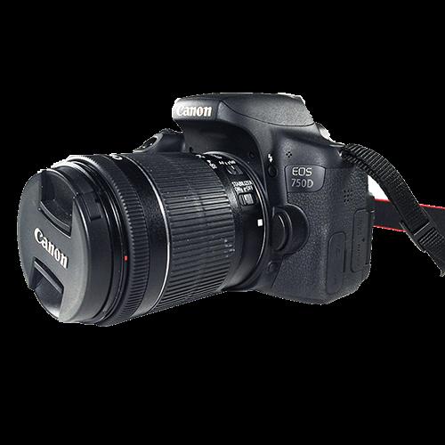 Kamera DSLR Canon 750D