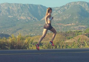 berlari dan berjalan untuk menurunkan berat badan