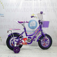 16 Inch United Pom Pom Kids Bike