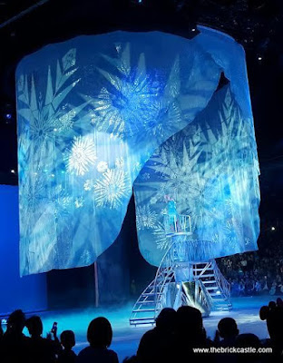 Elsa frozen land ice snow curtain disney