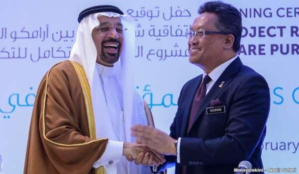 Pelaburan Saudi ARAMCO Dan  PETRONAS - Menepis  Perpsepsi Jahat Pembangkang