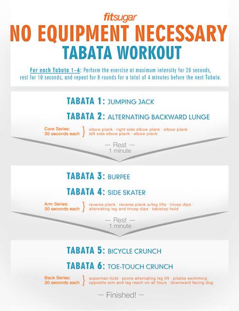 VMfitness: TABATA Quickies!