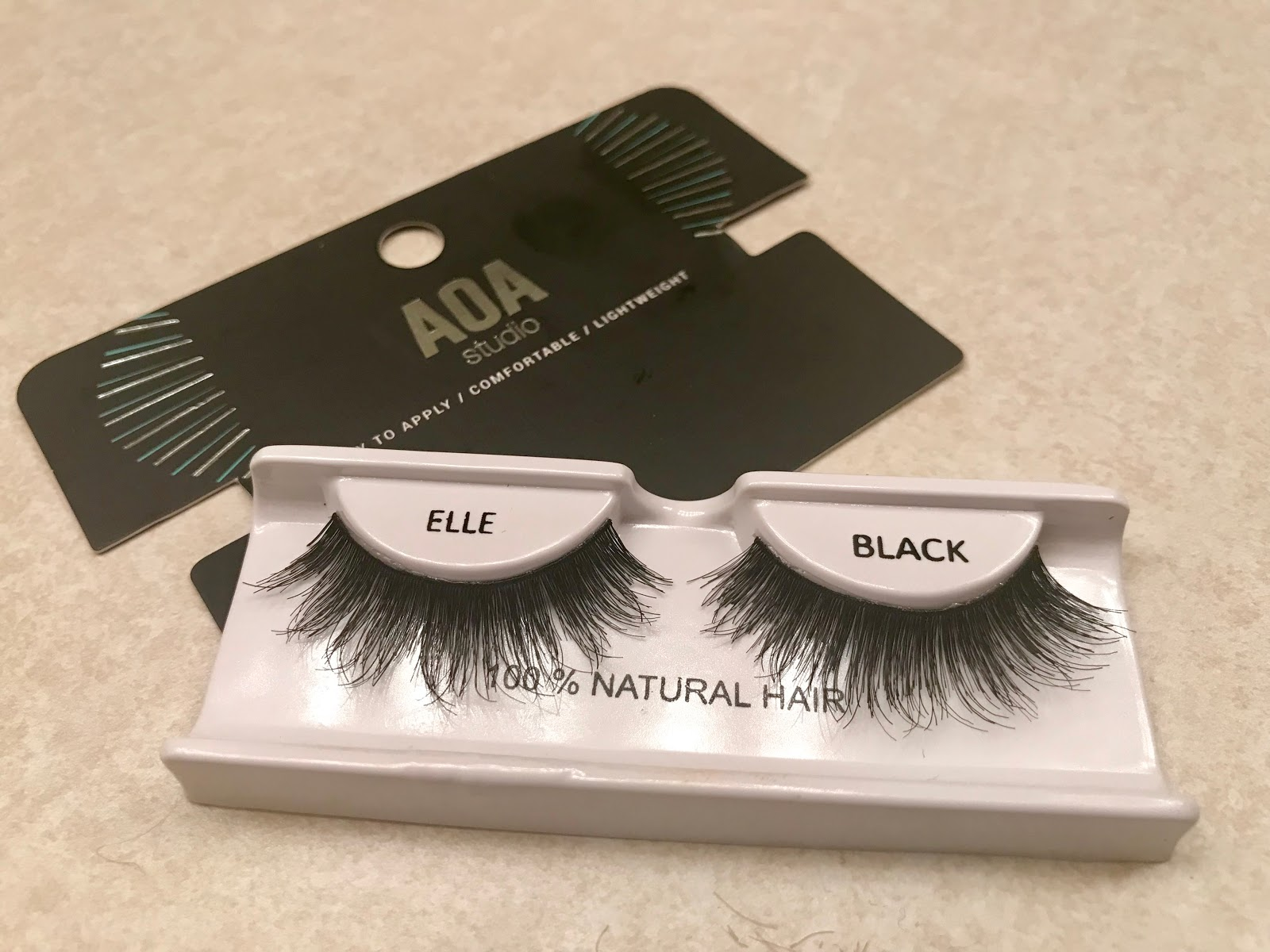 Image: Eyelashes from Shop Miss A. Woman sharing on her blog as a favorite of hers. Bits and Babbles
