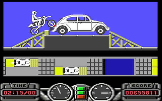 Super Scramble Simulator, C64