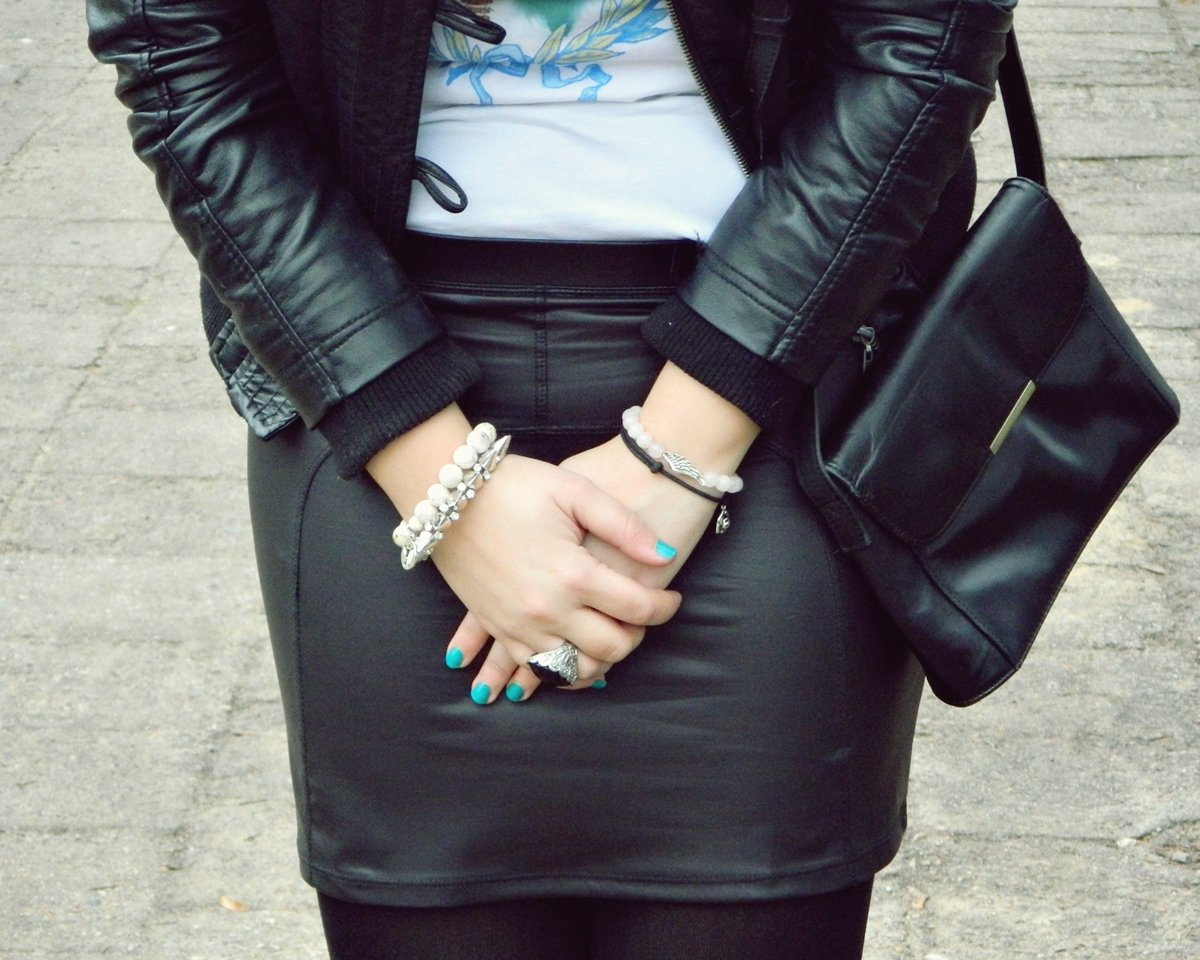 moda-na-spódnice-skórzane